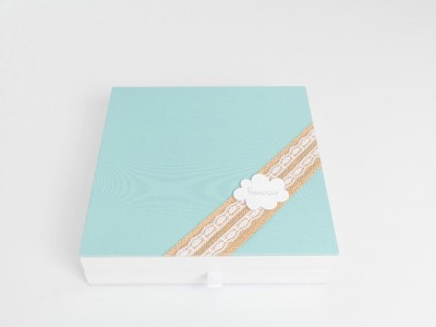 Caja Style Lino Blonda