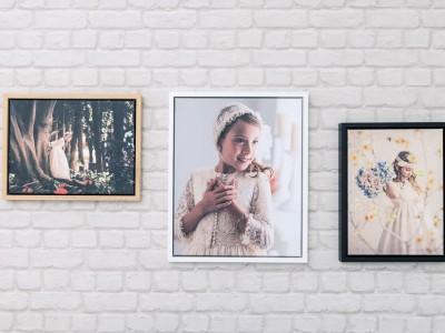 Canvas + Marco de madera