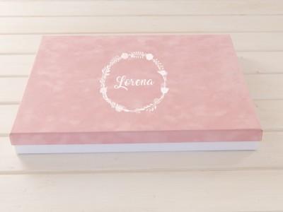 Caja Forrada Colección Velvet