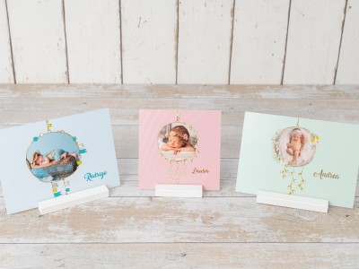 Tarjetones + Peana Baby & Kid