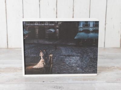 Caja de Madera Fotográfica